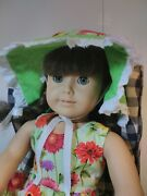 18 Doll And Blue Gingham Chair The Tender Art Collection American Girl Furniture