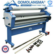 55in / 63in Full-auto Heat Assisted Cold Laminator Laminating With Knife Trimmer