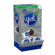 York Peppermint Patties Dark Chocolate Covered Mint Candy175 Pieces 5.25 Pound