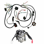 Wiring Harness Wire Loom Stator Carburetor Electric Gy6 150cc 125cc Buggy Scoote