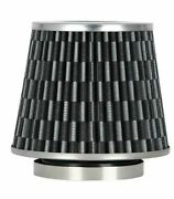 New Redline Universal Carbon Look Reusable Car Air Intake Cone Filter Pm-8129