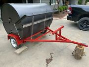 Pig Roaster With Rotisserie And Motor