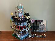 Lego Ninjago City 70620- 100 Complete Instructions Perfectly Applied Stickers