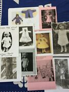 Doll Patterns For Your Antique Schoenhut Doll Antique Doll Circus Your Choose