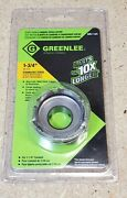Greenlee No. 645-1-3/4 - Quick Change Carbide-tipped Hole Cutter - 1 3/4