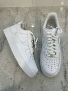 New Nike Air Force 1 Low White '07 [315122-111 Cw2288-111] Men's Size 12.5 14w