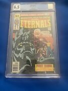 Eternals 1 30 Cent Variant Cgc 6.5 1st Origin And Appearance Of The Eternals