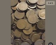 10 Rolls Unsearched Average Circulated Old Mixed Date Wheat Pennies 500 Coins