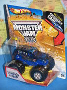 Hot Wheels Monster Jam Son-uva Digger Crushable Car Brand New And Rare