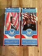 Presidents Ronald Reagan And George W. Bush Limited Edition Talking Figures Dolls
