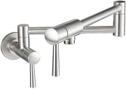 Imlezon Pot Filler Faucet Stainless Steel Commercial Wall Mount Kitchen Sink Fau