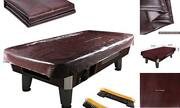 Leather Pool Table Cover - Billiards Pool Table Accessories Set, Premium 7ft