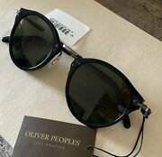 Oliver Peoples Op505 Sun Sunglasses Vintage Glass Made In Italy