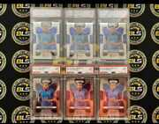 Kylian Mbappe Rookie Card 2018 Prizm World Cup Soccer Psa 9 - Investor Lot Of 6