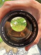 Cannon 50mm F/0.95 Dream Lens With Canon Model 7 Rangefinder 35mm Film Camera