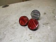 Jesse James West Coast Chopper Bicycle/bike Front And Rear Reflector Set