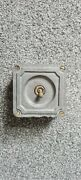 Like Crabtree One Gang Industrial Metal Light Switch Antique Salvage Ceramic