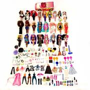 Lol Surprise Omg Dolls Huge Lot Of 25 W/ Accessories Clothing Shoes Car Read