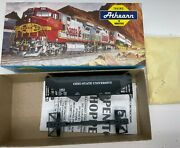 Extremely Rare And Htf Athearn Ohio State 2-bay Side Hopper Coal Car Kit - Nos