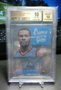 Kevin Durant Bgs 10 2013-14 Pinnacle Essence Of The Game Auto Autograph /99