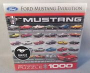 Ford Mustang Evolution 50 Years Eurographics Puzzle 1000 Pieces 8000-0684 New