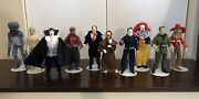 Mego Monsters - Lot Of 10 - Great Condition Stands Not Included Free Shipping