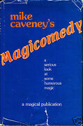 Magicomedy By Mike Caveney 1981-magic Book-1st Edition-close-up Trick-comedy-oop