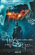 Christian Bale +6 Hand Signed 11x17 The Dark Knight Authentic Autographed Photo