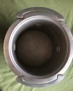 Vintage Aluminum Deep Well Stove Pot By Mirro, 7.5 H X 10.25 D