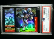 1995 Sp Holoview Curtis Martin 5 Red Die Cut Rc Rookie Psa 9