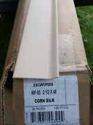 Flexco Corn Silk Rubber Wall Base Commercial Quality 4 116ft 2.5 New 29pc X 4'