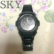 Casio G-shock Discontinued Gravity Master Metal Band Excellent 2b3c