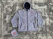 Red Bull Jacket - Athlete Only - White / Grey - Snowboarding Winter Hat - Parka
