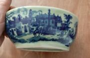 Ironstone Flow Blue Oval Victoria Ware Butter Mold Fish Design Antique