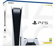 Playstation 5 Disk Edition Console 825gb Ssd + Optional Extras New Sealed