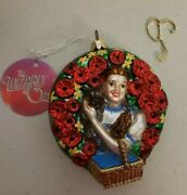 Polonaise Wizard Of Oz Dorthy And Toto Ap 1496 By Kurt Adler Ornament With Tag