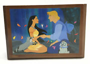Fossil Disney Collectors Watch Club Pocahontas Music Box Wind Limited Ed 7500