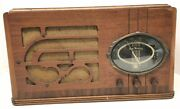 1939 Airmaster Table Radio Am Sw Antique As Is