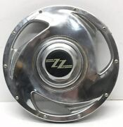 Vintage Plastic Zz Wheelz Hubcap With Black And Gold Logo Part 5404