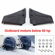 2x Boat Hydrofoil Stabiliser Engine Component For 4‑50hp Outboard Motors