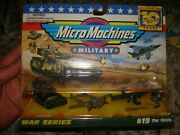 Micro Machines Military War Series 19 The 1940and039s 1996 Galoob 7000 New Sealed