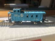 Bachmann Silver Series N Scale 3 Window Great Northern Caboose X106 C8 Rtr Vgc👍