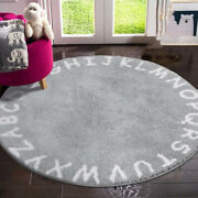 Kids Rug Abc Baby Rug Crawl Large Activity Play Mat Soft Floor Area Rugs