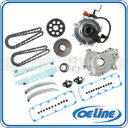 For 2008 Ford F150 4.6l V8 Timing Chain Kit Oil Pump Electronic Fan Clutch