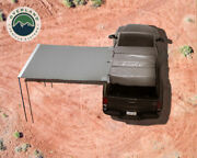 Ovs Nomadic Awning 2.0 - 6.5and039 W/ Black Cover 98.5 X 78.5 Opened Universal