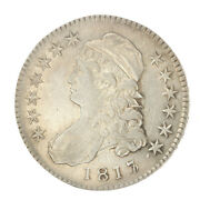 1817/3 Capped Bust Half Dollar Xf Better Date Ac378