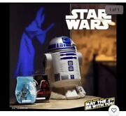 R2-d2 Star Wars Scentsy Warmer With Dark Side Of The Force Wax Bar Free Shipp
