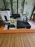 Xbox 360 Kinect Game Bundle 4gb/ 2 Controllers/sensor Console Cords And 10 Games