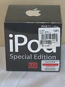Apple Ipod Special Edition U2 20gb Mac+pc Brand New Factory Sealed