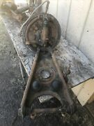 1954-1959 Mercedes W 180 Off 1958 220 S Front Left Wheel With Hub Contr Arm